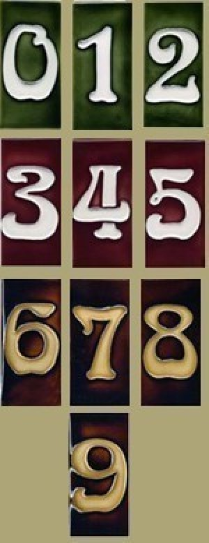 Number Tiles - Product Image