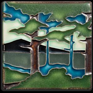 "4"" Pine Landscape - Product Image"