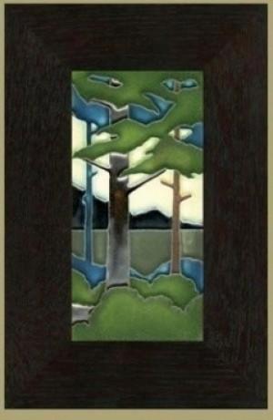 "4"" x 8"" Vertical Pine Landscape - Product Image"