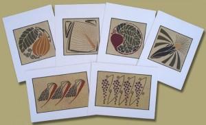 Garden Harvest Notecards - Product Image