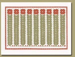 Roycroft Poppies Notecards - Product Image