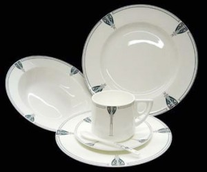 Viennese Pendant 5-Piece Place Setting - Product Image