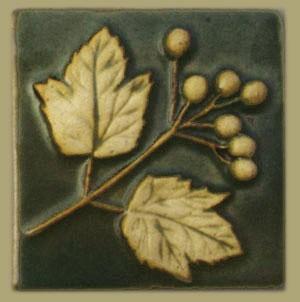 "Highbush Cranberry 4"" Tile - Product Image"