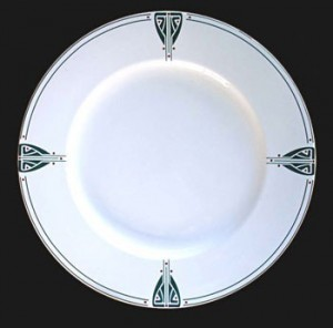 Viennese Pendant Charger or Serving Platter - Product Image
