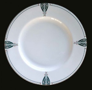 Viennese Pendant Salad Plate - Product Image
