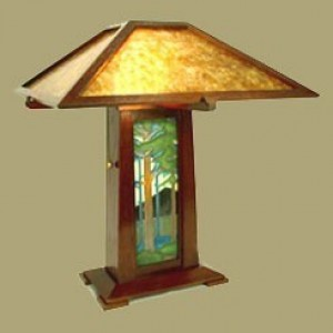 Schlabaugh Lamp with Tile - Product Image