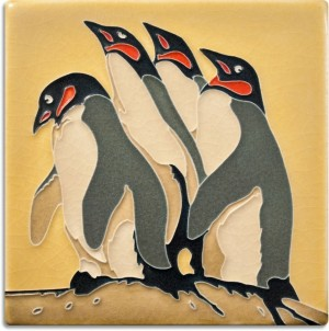 6 x 6 Paine's Penguins - Product Image