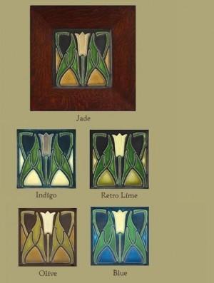 "Lotus 4"" Tile - Product Image"