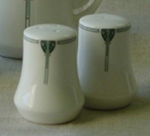 Viennese Pendant Salt and Pepper Shaker Set - Product Image