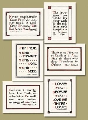 Letterpress Printed Roycroft Mottos - Product Image