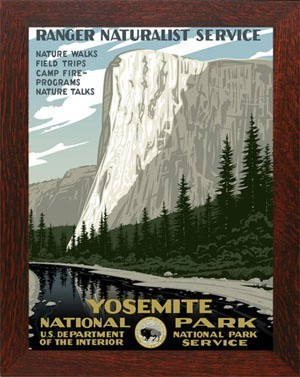 YOSEMITE, WPA National Park Poster - Product Image