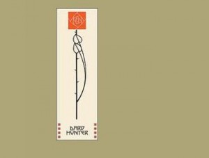 Dard Hunter Rose and Stem Bookmark - Product Image