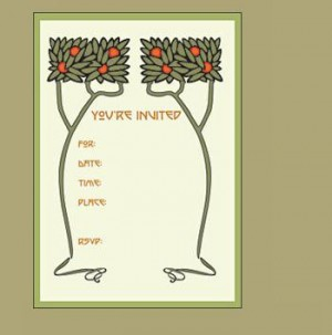 Dard Hunter Boxed Invitations - Product Image