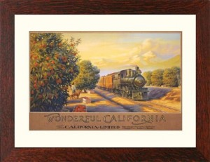WONDERFUL CALIFORNIA, Framed Lithograph - Product Image