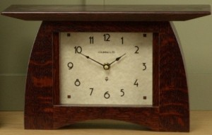 Arts & Crafts Mantle Clock  - Product Image