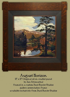 August Horizon by Jan Schmuckal  - Product Image
