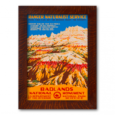Badlands National Monument - Product Image