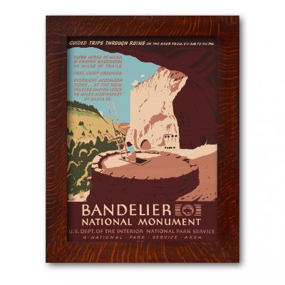 Bandelier National Monument Framed Poster - Product Image