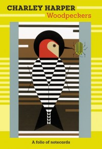 Charley Harper Woodpeckers Notecard Folio - Product Image