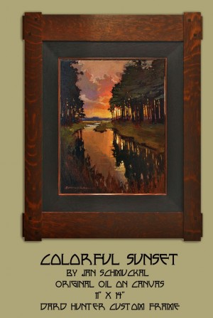 Colorful Sunset by Jan Schmuckal - Product Image