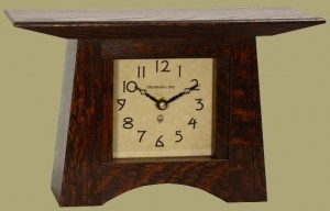 Craftsman Mantle Clock  - Product Image