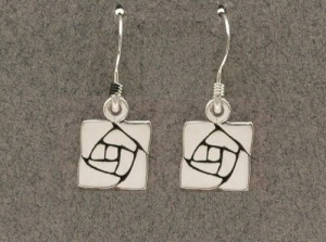 Dard Hunter Sterling Silver Jewelry, design #213 - Product Image