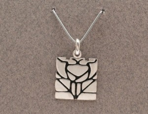 Dard Hunter Sterling Silver Jewelry, design #214 - Product Image