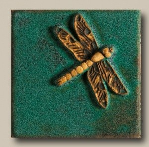 "Dragonfly 4"" Tile - Product Image"