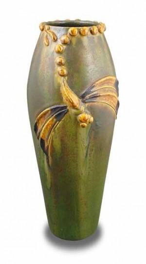 Ephraim's Evening Dragonfly Vase - Product Image