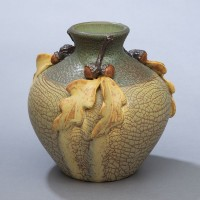 Ephraim's Great White Oak Vase - Product Image