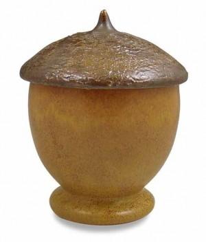Ephraim's Lidded Acorn Jar - Product Image