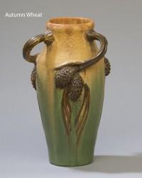 Ephraim's Three-Handled Pine vase - Product Image