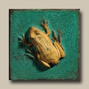 "Frog 4"" Tile - Product Image"