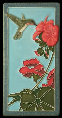 Hummingbird II 4x8 tile, by artist John Beasley - Product Image