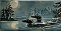 New! Moonlit Swim by artist John Beasley - Product Image