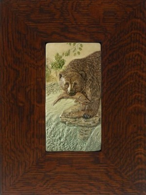 "NEW! ""Catch of the Day"" 4x8 tile, by artist John Beasley - Product Image"