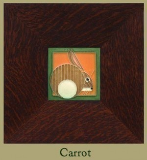 "Hare, 4"" x 4"" tile - Product Image"