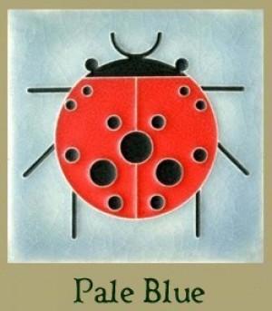 """Ladybug (without border) 4"""" x 4"""" tile - Product Image"""