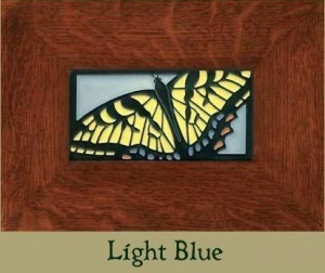 "Swallowtail 8"" x 4"" tile - Product Image"