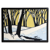 New Snowscape Dawn by Motawi Tileworks - Product Image