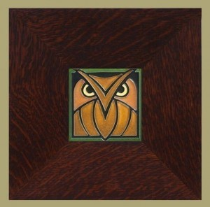 "Owl 4"" x 4"" tile - Product Image"