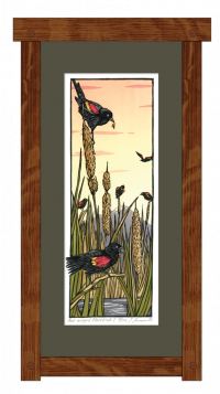 Red-Winged Blackbirds I - Product Image
