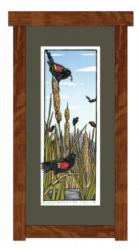 Red-Winged Blackbirds II - Product Image