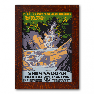 SHENANDOAH NATIONAL PARK, A Poster in the WPA tradition - Product Image