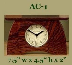 Schlabaugh Arts & Crafts Clocks - Product Image