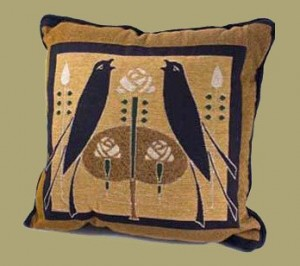 Songbirds Pillow - Product Image