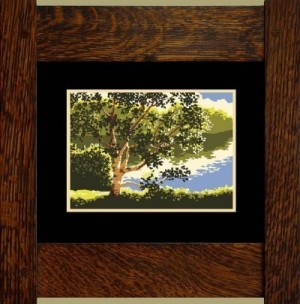 Spring Pond, Laura Wilder's Signed Mini-giclee - Product Image