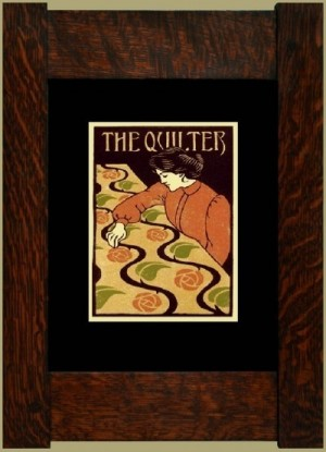The Quilter, Laura Wilder's Signed Mini-giclee - Product Image