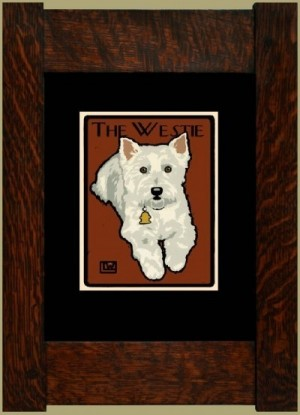 The Westie, Laura Wilder's Signed Mini-giclee - Product Image