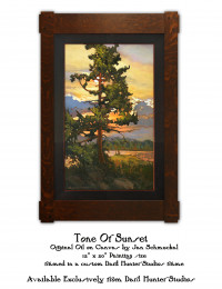 Tone Of Sunset by Jan Schmuckal - Product Image